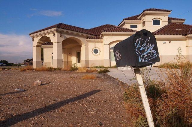 Abandoned Las Vegas home