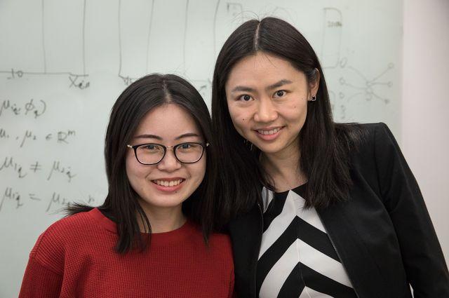 "Wei ""Vivian"" Li and Jingyi ""Jessica"" Li"