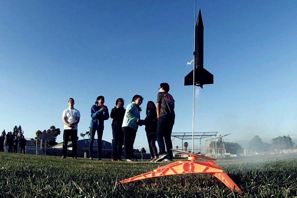 Rocket Project at Marina del Rey
