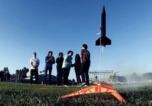 Rocket Project at Marina del Rey