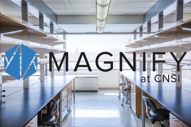 Magnify at CNSI features state-of-the-art co-working laboratory and office space