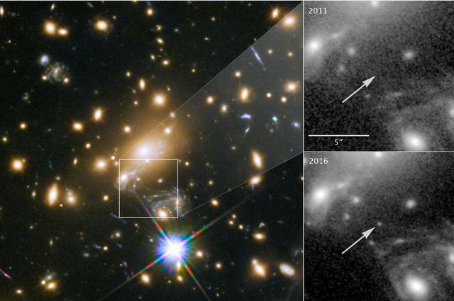 Rare Cosmic Alignment Reveals The Most Distant Star Ever Seen