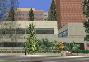 Rosenfeld Hall rendering