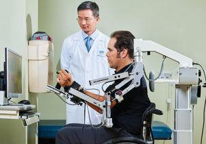 Dr. Daniel Lu with Brian Gomez