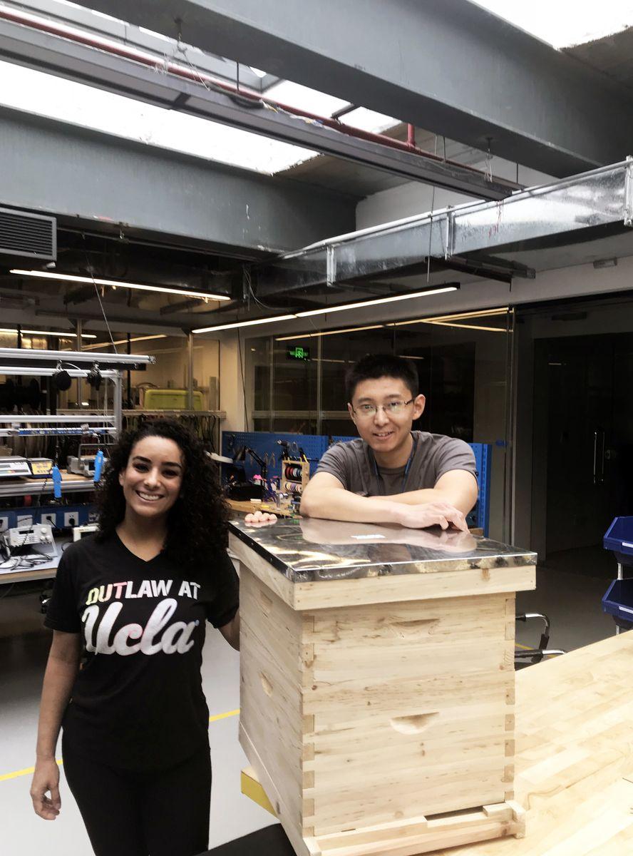 Sofia Beltran and Tim Yu