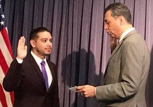 Luis Perez and Alex Padilla
