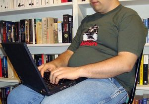 <em>Wikimedia Commons</em><br>Sitting obesity