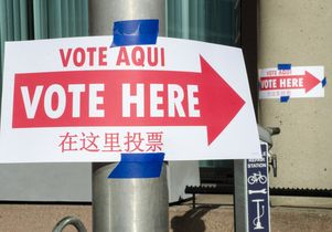 Vote Here-Vote Aqui