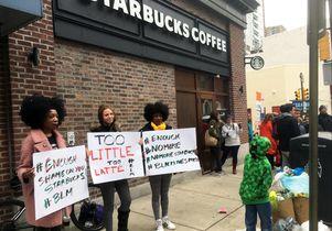 Starbucks Philadelphia protest