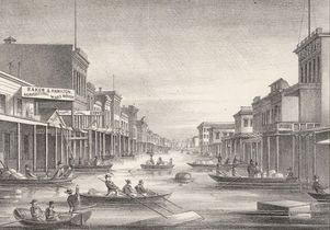 1862 flooding in Sacramento