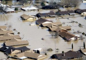 Flooding in Linda California