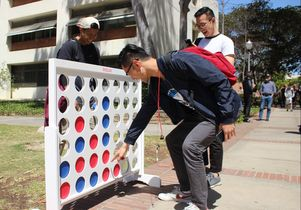 Connect Four in the UCLA Court of Sciences