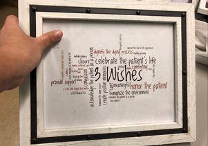 3 Wishes word cloud