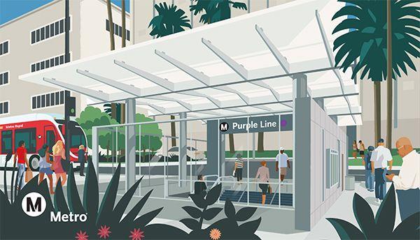 Purple Line illustration