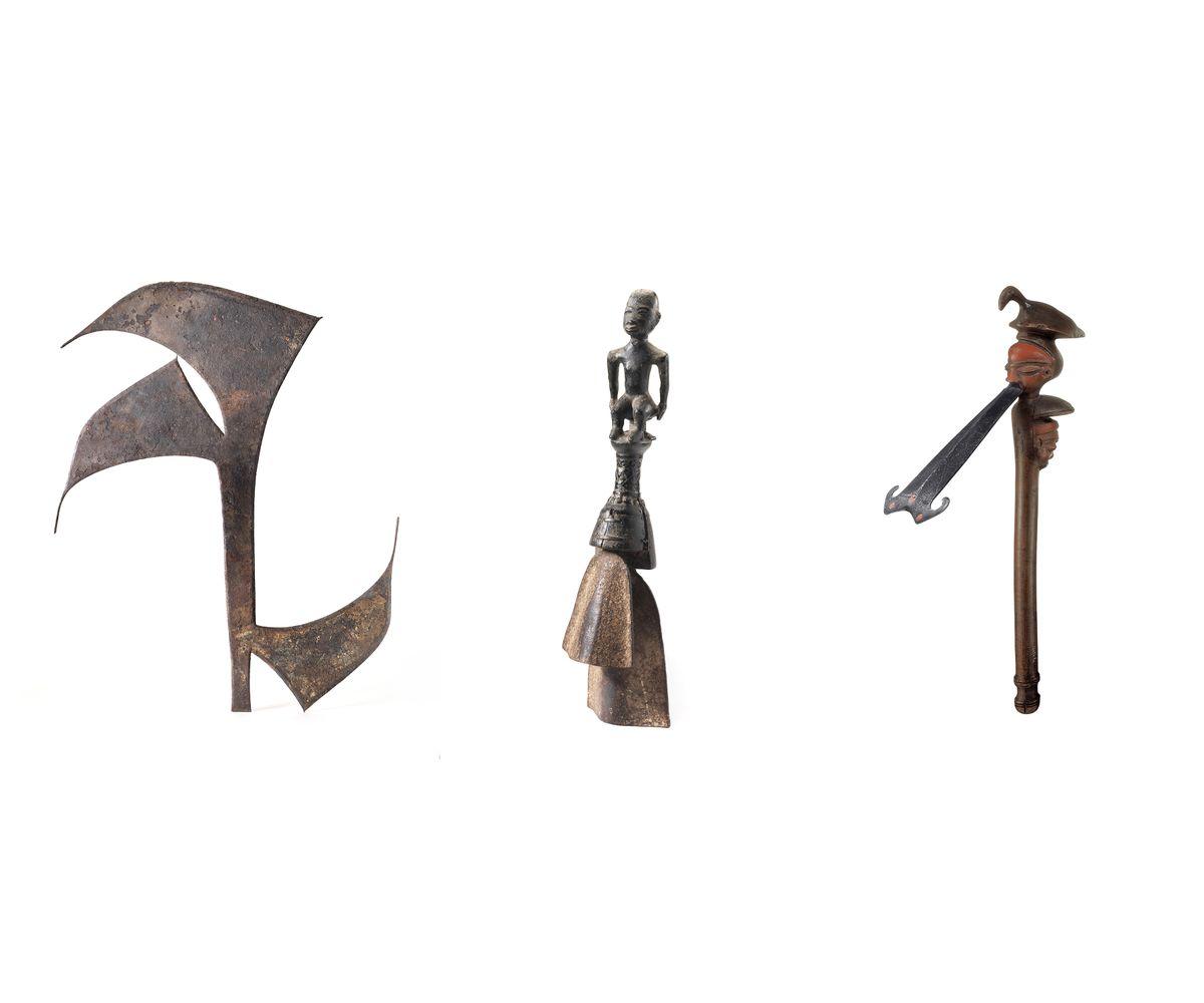 Striking Iron pieces