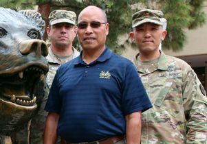 UCLA Army ROTC trio