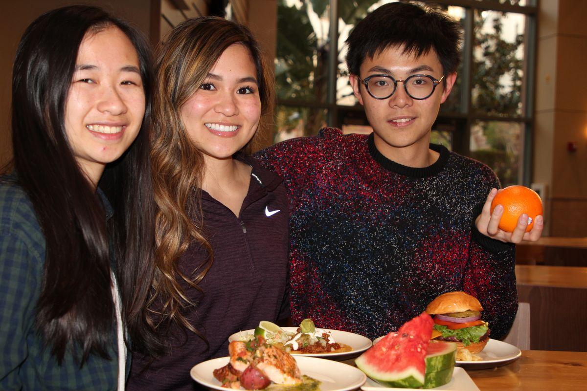 Shelly Dieu, Jasmine Fong and Shiyu Ji