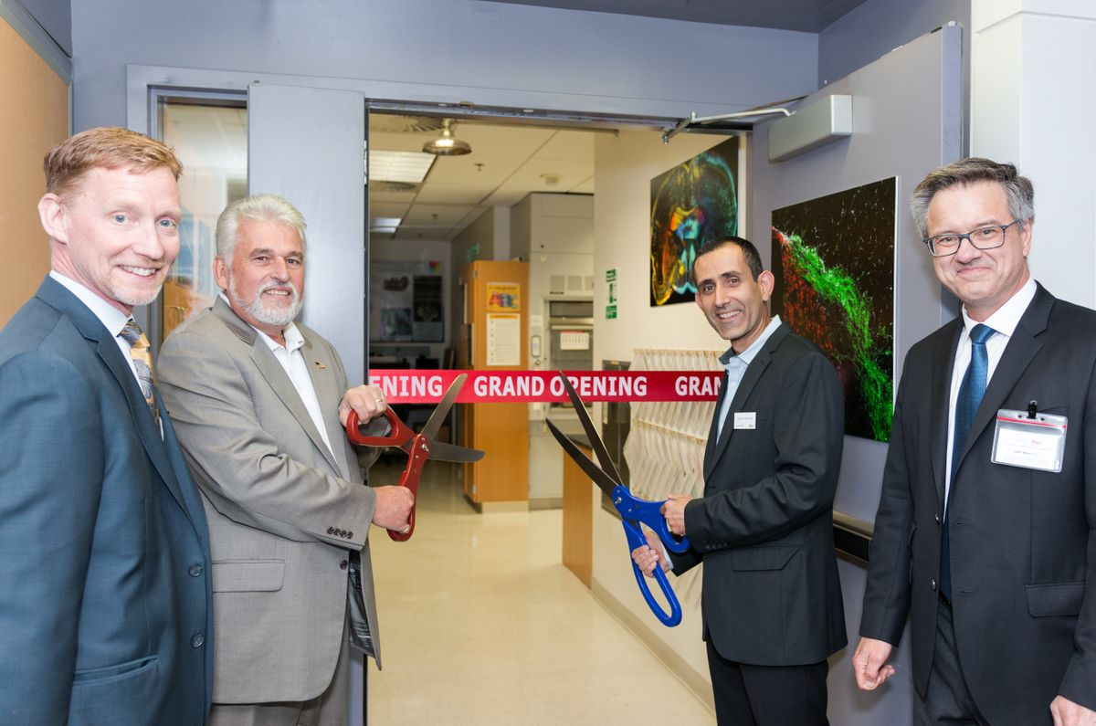 Leica Center of Excellence at UCLA opening