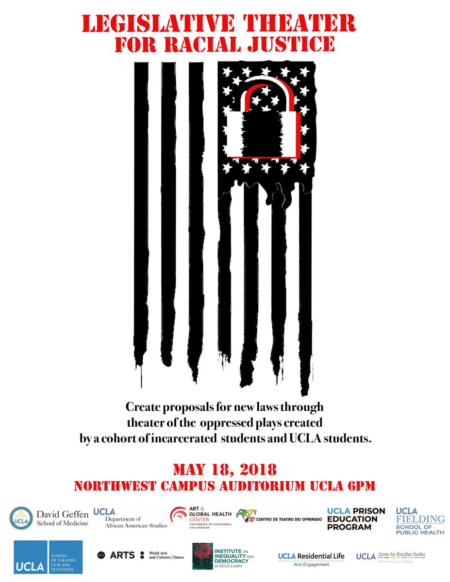Legislative Theatre Flag Flyer