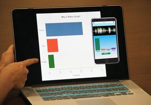 Chatterbaby app screen