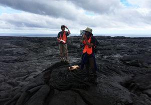 UCLA volcano research trip
