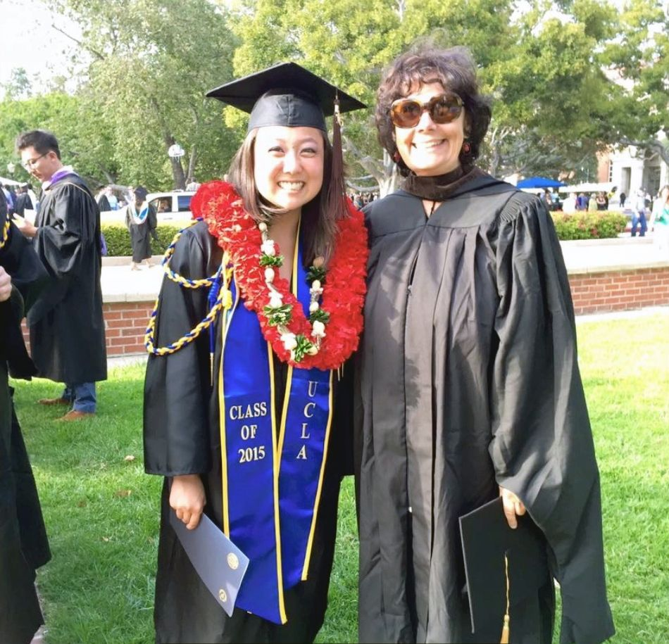 Barbara Drucker with VAPAE grad
