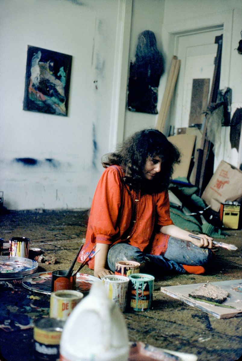 Barbara Drucker 1974 studio