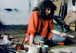 Barbara Drucker 1974 studio