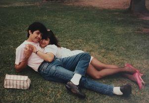 William and Nora Herrera in El Salvador