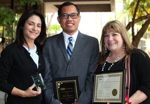 Staff Assembly award recipients