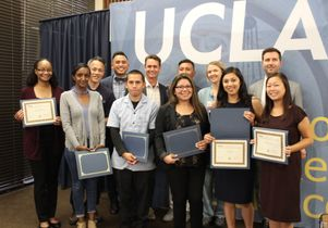 Staff Assembly Scholarship recipients