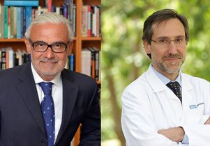 Marcelo Suárez-Orozco and Dr. Anthoni Ribas