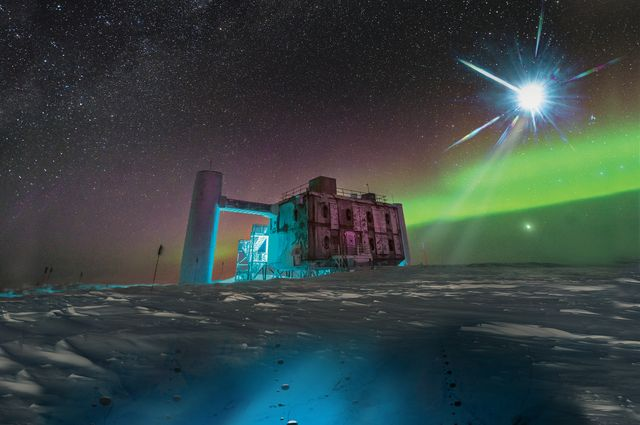 Astronomers trace cosmic ray neutrino back to remote blazar