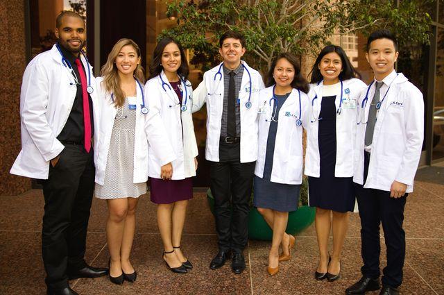L.A. Care scholars group