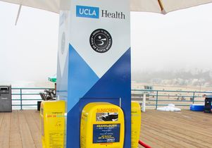 Sun safety kiosk