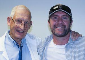 Dr. Richard Stiehm and Maurice Elias