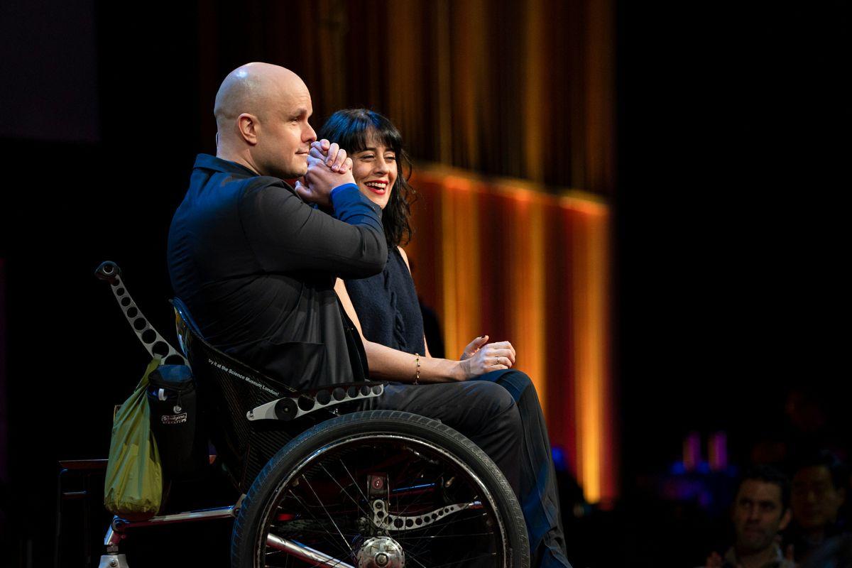 Mark Pollock, Simone George at TED