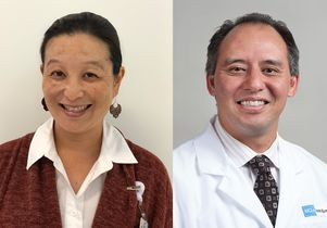 Dr. Meeryo Choe and Dr. Christopher Giza