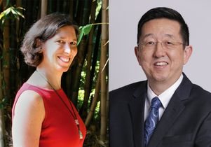 Nancy Wayne and David Yoo