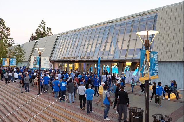 Pauley Pavilion main entrance