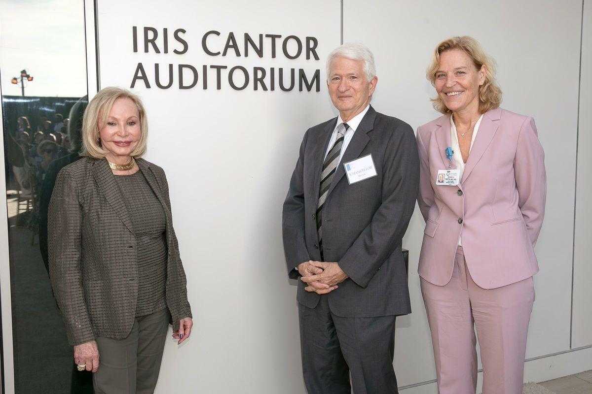 Iris Cantor, Gene Block and Kelsey Martin