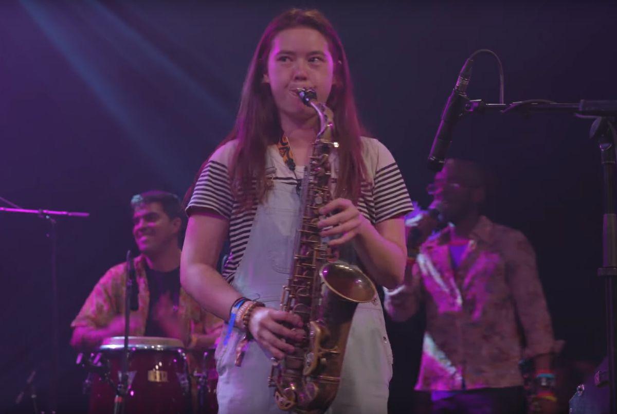 Jade Elliott at Montreux