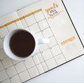 Goal-setting calendar