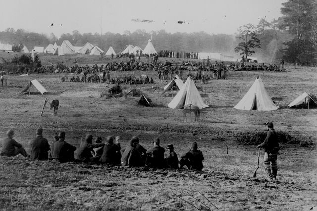 Civil War prisoner camp