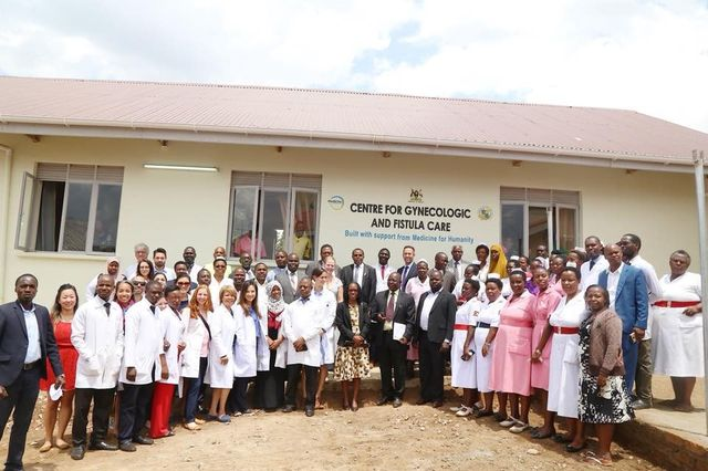 Opening of fistula center in Uganda