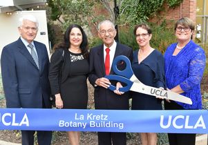 La Kretz ribbon cutting
