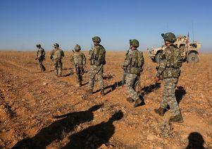 U.S. and Turkish soldiers