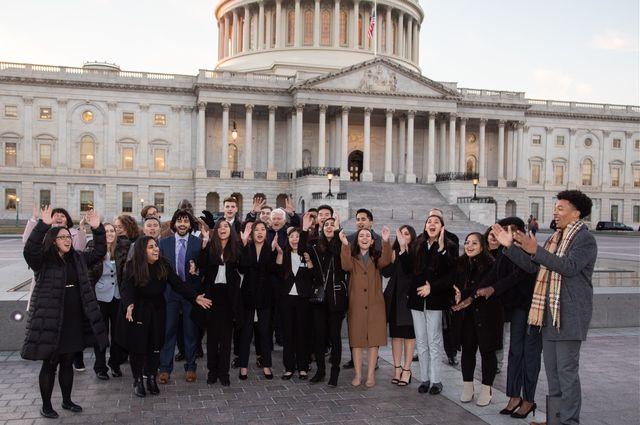 Chancellor D.C. trip 2019