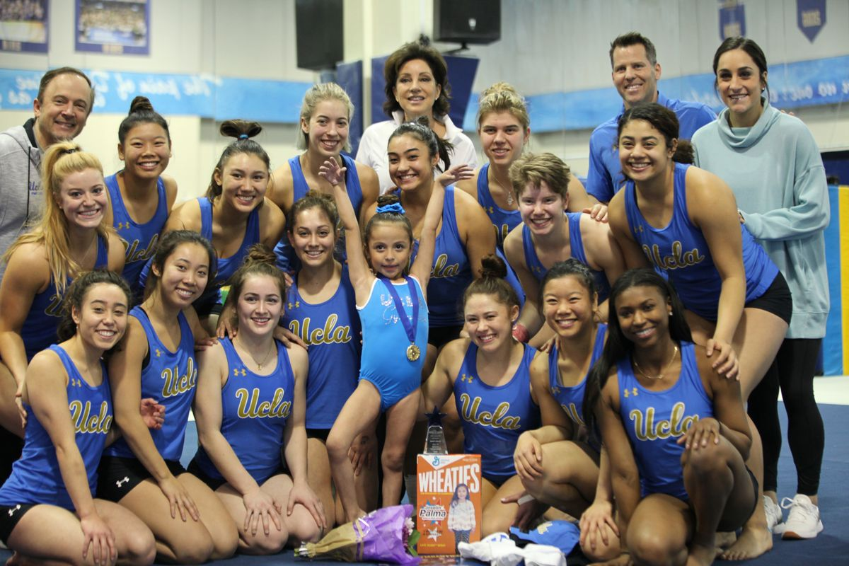 Thanks To Ucla And Make A Wish 6 Year Old Gymnast Scores