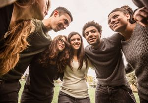 Teens stock photo